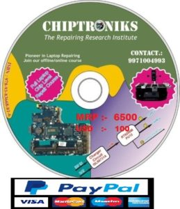 purchage advance level online laptop repair course